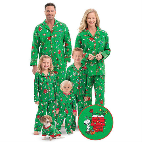 Buy Charlie Brown Xmas Matching Family PJs