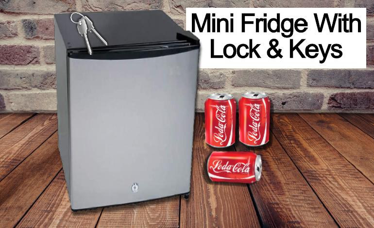 Mini Fridge With Lock