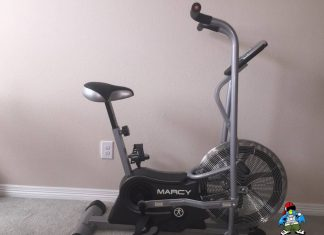 Marcy Air 1 Fan Exercise Bike Review