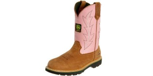 Pink John Deere Boots For Women
