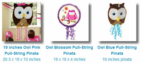 Buy Owl Pinatas