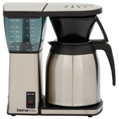 Coffee Maker Thermal Carafe Vs Glass : Bonavita BV1800 8-Cup Coffee Maker Review
