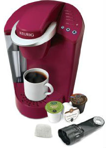 Keurig K45 Elite Coffee Maker Rhubarb