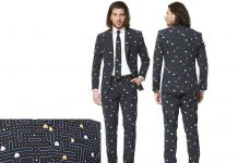 Pac Man Suit and Tie