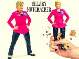 Hillary Nutcracker For Sale