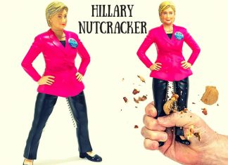 Hillary Nutcracker For Sale