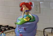 The Little Mermaid Cookie Jar