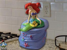 The Little Mermaid Cookie Jar