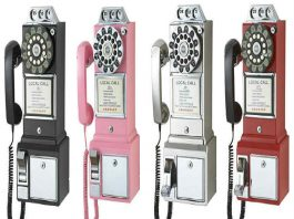 Old Fashioned Payphone Booth For Sale