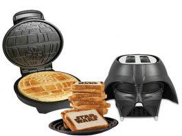 Star Wars Death Star Waffle Maker And Darth Vader Toaster