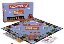 Super Mario Bros Monopoly Board Game